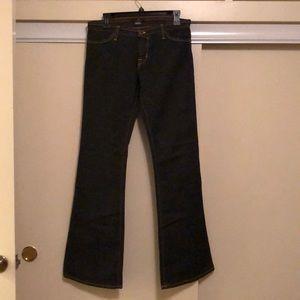 Von Dutch  Dark Navy Flared Jeans